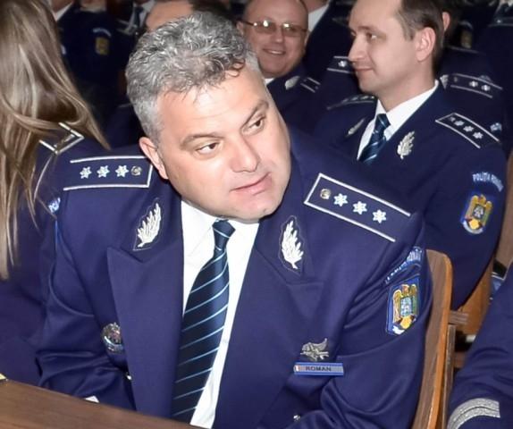 Dorel Roman, şeful Serviciului de Acţiuni Speciale din cadrul IPJ Iaşi