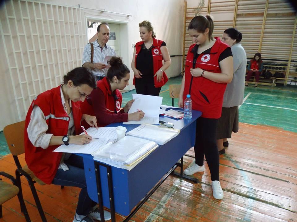 FOTO: Crucea Roșie Română Filiala Iași