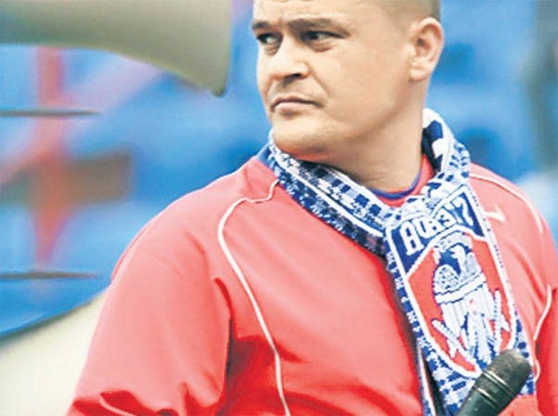 Foto: Gheorghe Mustaţă, lider galerie Steaua Bucureşti