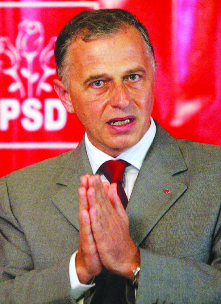 Presedintele PSD, Mircea Geoana, participa la o conferinta de presa, in Craiova, joi, 14 august 2008. Mircea Geoanaa anuntat ca va candida pe unul din cele cinci colegii uninominale pentru Senat din Dolj, sustinand ca o decizie in privinta stabilirii zonei in care va concura va fi luata in cadrul organizatiei judetene. DARIUS MITRACHE / MEDIAFAX FOTO
