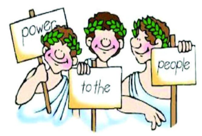 Votu' și democrația, baba și …