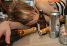 Femeie alcoolica