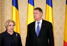 Klaus Iohannis si Dancila