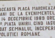 Revoluția a început la Iași