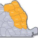 Harta Mișcarea pentru Dezvoltarea Moldovei