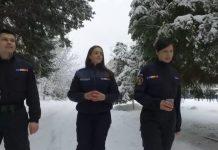 Jandarmi iarna
