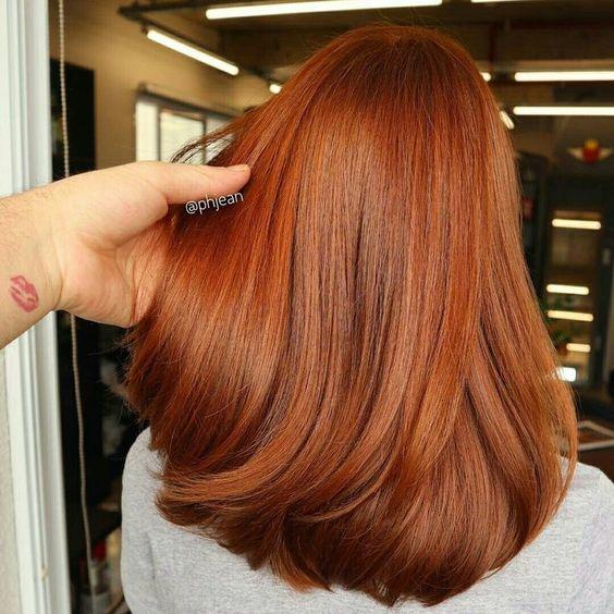 Tunsori Pentru Păr Mediu în 2019 Blunt Cut Păr Tuns Drept Lungime